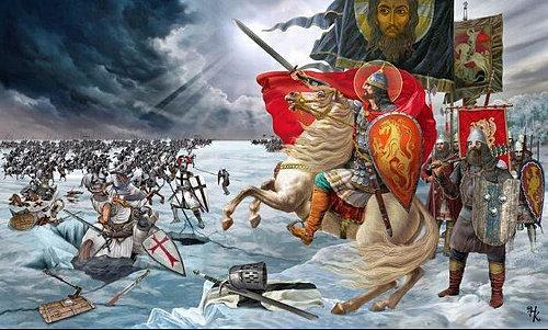 ледовое побоище 1242 картинки