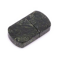 Общий вид USB флешки из камня змеевик