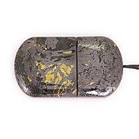 Закрытая USB флешка из камня змеевик: вид сверху