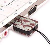 USB флешка из камня яшма: в ноутбуке