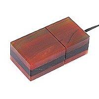 USB накопитель из узорчатого агата: общий вид