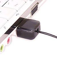 USB накопитель из черного агата: в ноутбуке