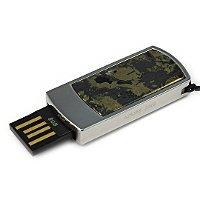 Подарочная флешка с гематитом: USB разъем выдвинут
