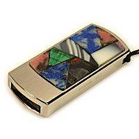Подарочная флешка с мозаикой: общий вид