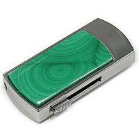USB диск с малахитом: надежный фиксатор