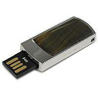 USB flash в камне тигровый глаз: разъем выдвинут