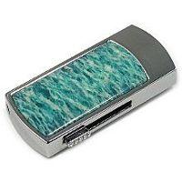 USB диск с амазонитом: надежный фиксатор