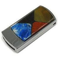 USB flash с мозаикой: общий вид