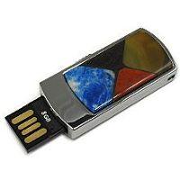 Стильная USB флешка с мозаикой: надежный фиксатор