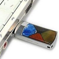 USB накопитель с мозаикой: обратная сторона, страз Swarovskirovski