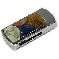 USB диск с каменной мозаикой: надежный фиксатор