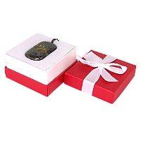 Подарочная коробочка: открытая с изделием